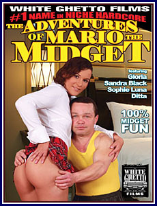 Adventures of Mario The Midget Porn DVD