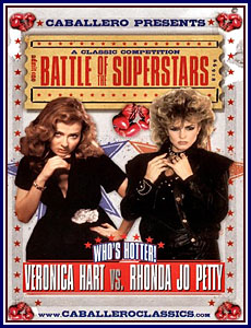 Battle of the Superstars Veronica Hart Vs Rhonda Jo Petty Porn DVD