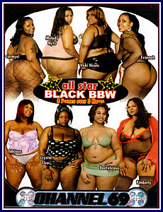 All Star Black BBW Porn DVD