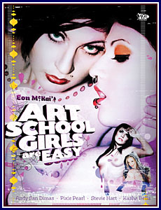 Art School Girls Are Easy Porn DVD