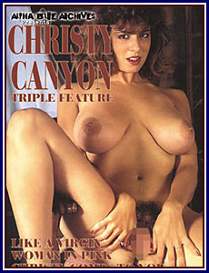 Christy Canyon Triple Feature Porn DVD