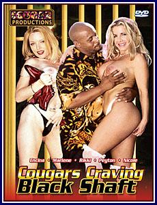 Cougars Craving Black Shaft Porn DVD