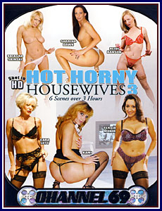 Hot Horny Housewives 3 Porn DVD