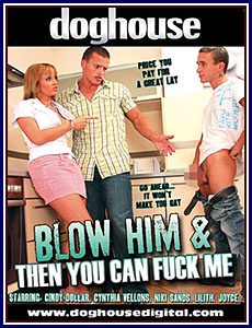 Blow Him and Then You Can Fuck Me Porn DVD