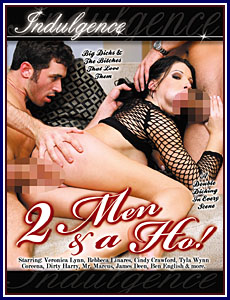 2 Men And A Ho! Porn DVD