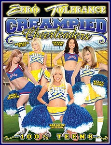 Creampied Cheerleaders Porn DVD