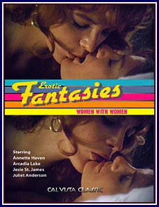 Erotic Fantasies Woman With Woman Porn DVD