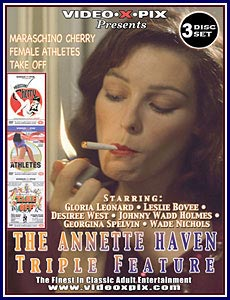 Annette Haven Triple Feature Porn DVD