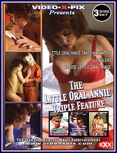 Little Oral Annie Triple Feature Porn DVD