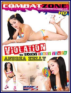 Violation of Hairy First Timer Andrea Kelly Porn DVD