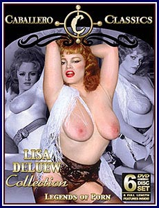 Lisa Deluew Collection Porn DVD