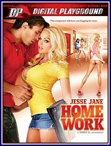 Jesse Jane Homework Porn DVD