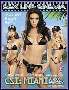CSI: Miami A XXX Parody Porn DVD