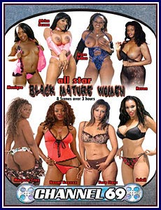 All Star Black Mature Women Porn DVD