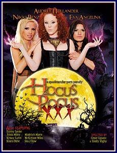 Hocus Pocus XXX Porn DVD