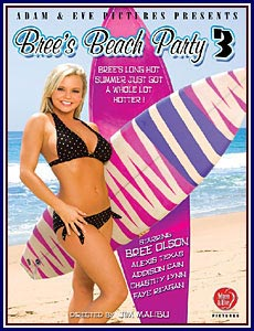 Bree's Beach Party 3 Porn DVD