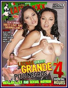 Latina XXX Latinas Quieres Grande Pito Negros Porn DVD