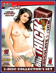 Big Thick Chocolate Stick Porn DVD