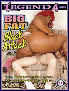 Big Fat Black Attack 2 Porn DVD