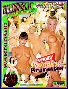 20 Hours Bangin' Blondes and Brunettes Porn DVD