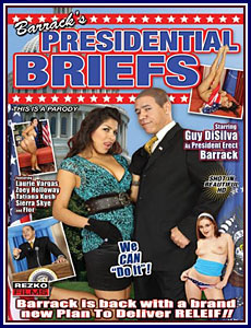 Barrack's Presidential Briefs Porn DVD
