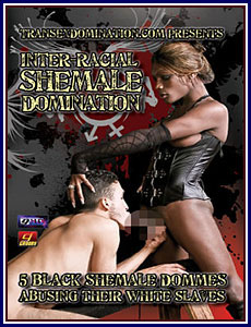 Interracial Shemale Domination Porn DVD