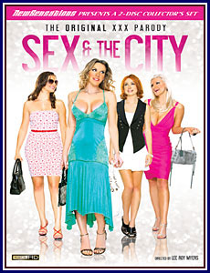 Sex and the City The Original XXX Parody Porn DVD