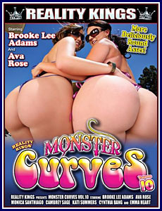 Monster Curves 10 Porn DVD