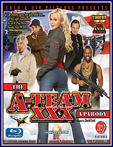 A-Team XXX: A Parody, The Blu-Ray Porn DVD
