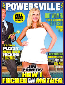 Jim Powers' How I Fucked Your Mother Porn DVD