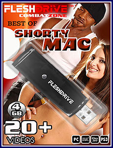 Best Of Shorty Mac 4GB FleshDrive Porn DVD