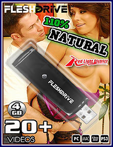 110% Natural 4GB FleshDrive Porn DVD