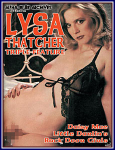 Lysa Thatcher Triple Feature Porn DVD
