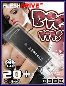 Big Tits 4GB FleshDrive Porn DVD