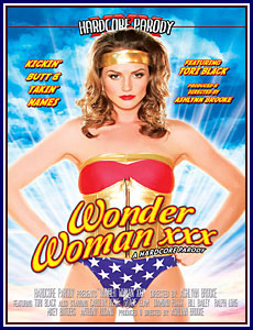 Wonder Woman XXX Porn DVD