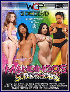 Mandingo's Super Whores Porn DVD