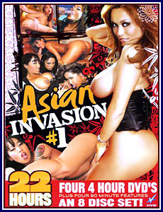 Asian Invasion Porn DVD