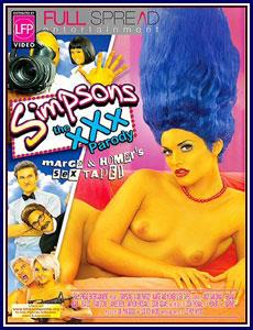 Simpsons XXX Porn DVD