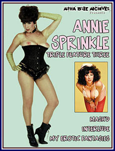 Annie Sprinkle Triple Feature 3 Porn DVD