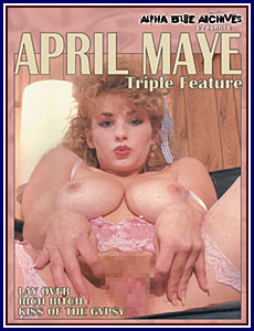 April Maye Triple Feature Porn DVD