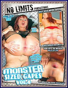 Monster Sized Gapes 4 Porn DVD