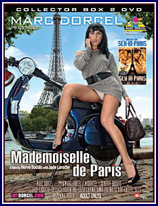 Mademoiselle de Paris - Best of Sex in Paris Porn DVD