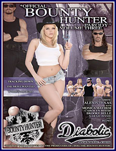 Official Bounty Hunter Parody 3 Porn DVD