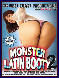Monster Latin Booty 2 Porn DVD