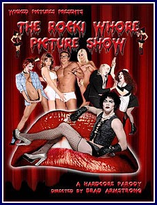 The Rocki Whore Picture Show A Hardcore Parody Porn DVD
