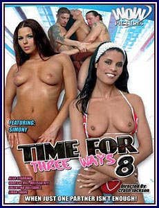 Time For Three Ways 8 Porn DVD