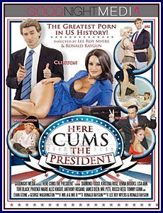 Here Cums The President Porn DVD