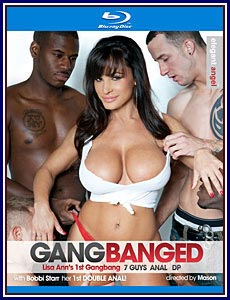 Gangbanged Blu-Ray Porn DVD