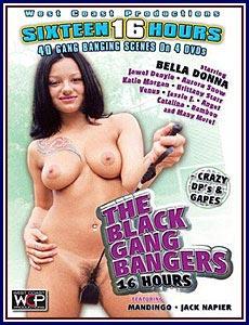 Black Gang Bangers Porn DVD