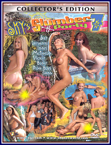 Sky's Slumber Party 7 Porn DVD